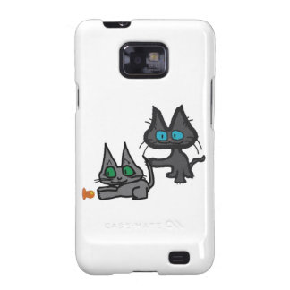 Kitten Playing Samsung Galaxy SII Cases