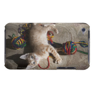 Kitten Playing With Yarn iPod Touch Case-Mate Case
