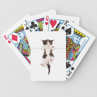 kitten. playtime bicycle playing cards