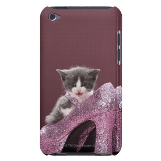 Kitten sitting in glitter shoes iPod touch Case-Mate case