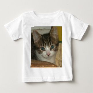 Kitten Smile Baby T-Shirt