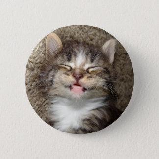 Kitten Smile Button