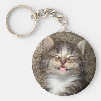 Kitten Smile Keychain