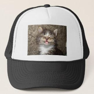 Kitten Smile Trucker Hat