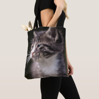 Kitten Standing Tall Tote Bag
