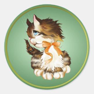 Kitten Stickers