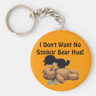 Kitten & Teddy Bear Gifts Keychain
