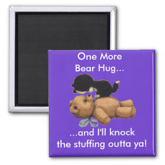 Kitten & Teddy Bear Gifts Magnet