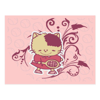 Kitten Tennis Tshirts and Gifts Postcard