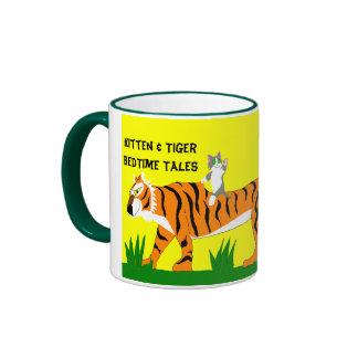 Kitten & Tiger BedTime Tales, Ringer Mug