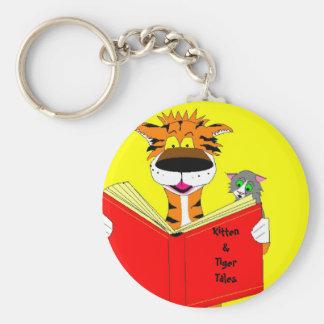 Kitten Tiger Tales Key Chains