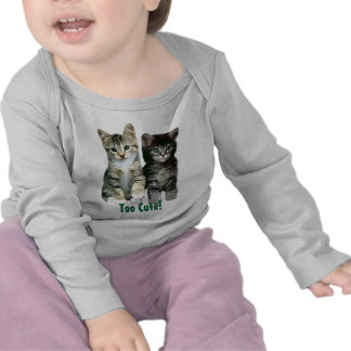 Kitten Todler Long Sleeve T-Shirt