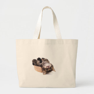 kitten tote bags