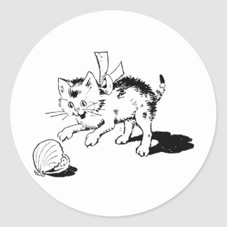 Kitten Tshirts and Gifts 308 Round Stickers