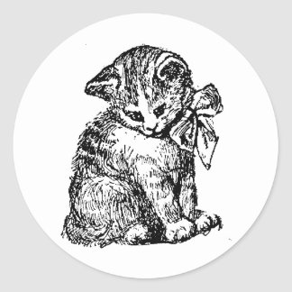 Kitten Tshirts and Gifts 428 Sticker