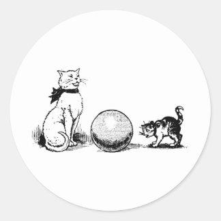 Kitten Tshirts and Gifts 429 Round Sticker