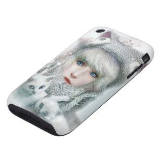 Kitten Winter iPhone 3 Tough Covers