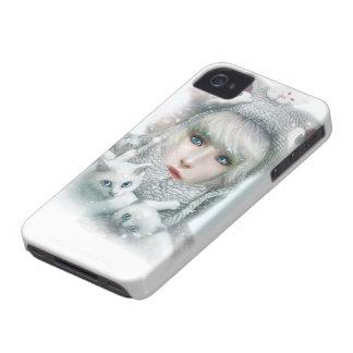 Kitten Winter iPhone 4 Case-Mate Cases