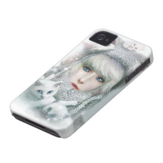 Kitten Winter iPhone 4 Cover
