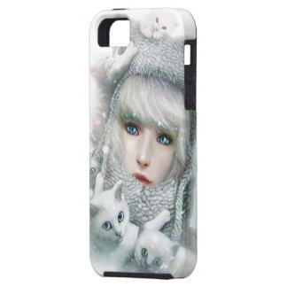 Kitten Winter iPhone SE/5/5s Case