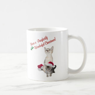 Kitten Wishes For A Purrfectly Wonderful Christmas Coffee Mugs
