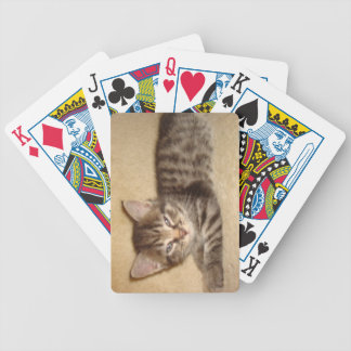 Kitten With Attitude Playing Cards