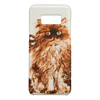 KITTEN WITH ROSES ,Brown and White Case-Mate Samsung Galaxy S8 Case