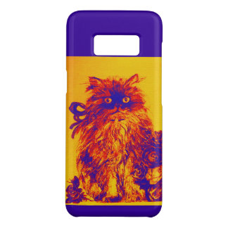KITTEN WITH YELLOW BLUE ROSES Case-Mate SAMSUNG GALAXY S8 CASE