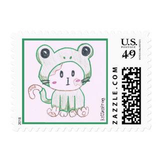 Kittenfrog postage stamps