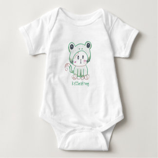 Kittenfrog romper for babies/toddlers
