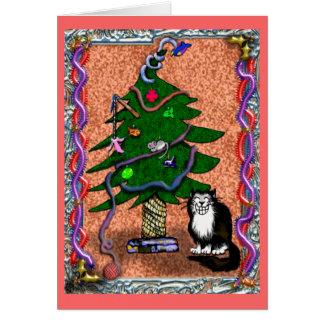 kittenmas card