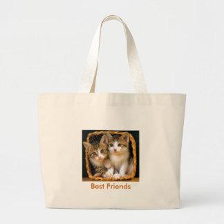 kittens2, Best Friends Tote Bags