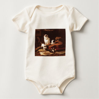 Kittens and Guitar Baby Bodysuit