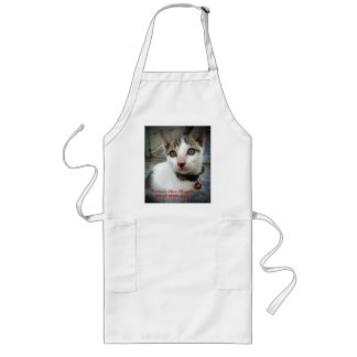 Kittens Are Angels With Whiskers Long Apron