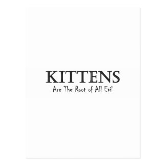 Kittens are the Root of All Evil.pdf Postcard
