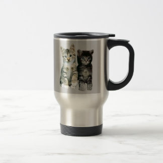 Kittens Around Here Cats Are In Charge Travel Mug