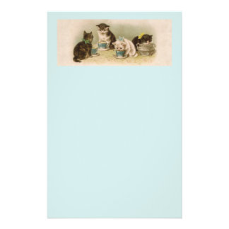 Kittens at a Tea Party Stationery
