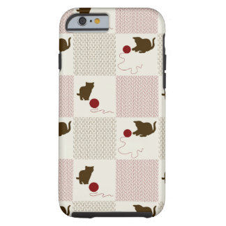 Kittens Backgrounds Tough iPhone 6 Case