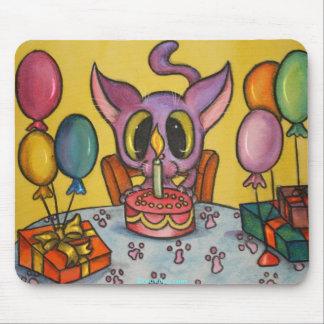 Kitten's Birthday Mouse Pad