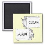 Kittens Dishwasher Magnet Customize Background