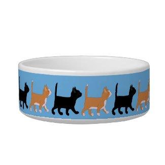 kittens go cat food bowls