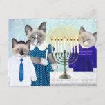 """Kittens' Hanukkah Postcard<br><div class=""""desc"""">It"""