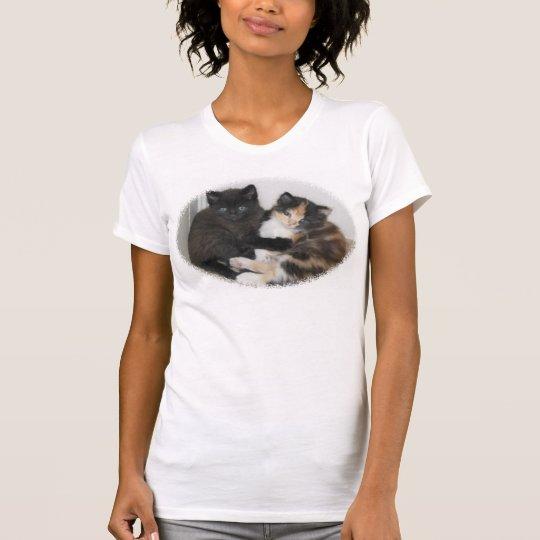 Kittens Hugging T-Shirt