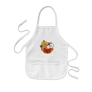 Kittens in Basket Tshirts and Gifts Kids' Apron