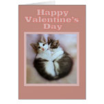 Kittens in Love Happy Valentine's Day Greeting Cards