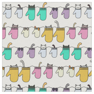 Kittens in Mittens Fabric