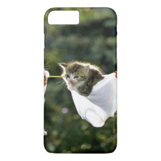 Kittens in underwear on clothesline iPhone 8 plus/7 plus case