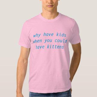 kittens > kids tee shirt