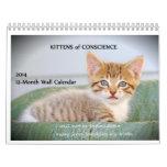 Kittens of Conscience Calendars