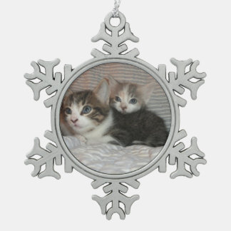 Kittens on a Blanket Ornaments